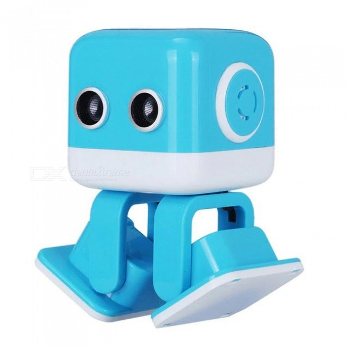 Intelligent Programming APP Control Remote Control Dancing Robot Toys With Yellow Or Blue Color Optional
