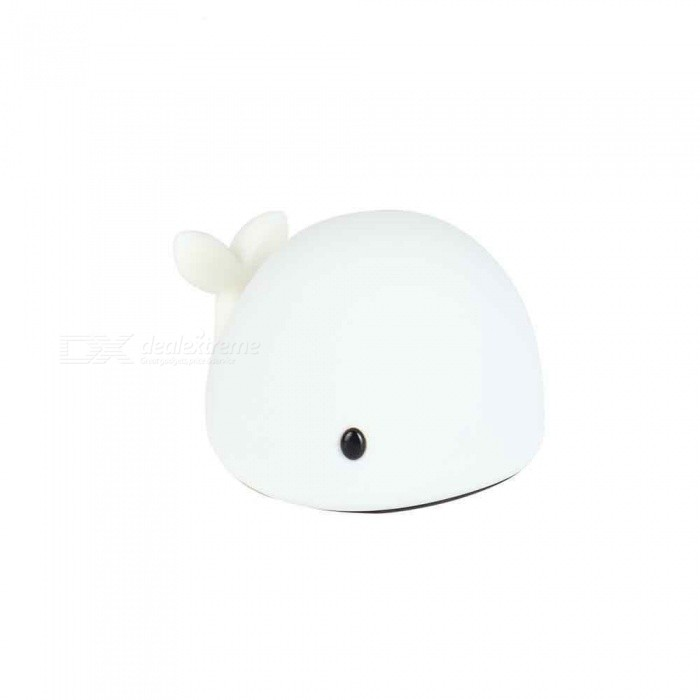 LED Night Light Motion Sensor  Baby  USB Cute Whale Rechargeable Children Night Lamp Toy Lights Silicone Safety dolphin