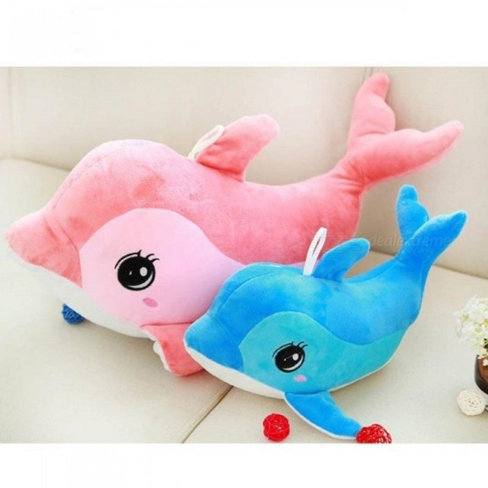 Dolphins Pillow Doll Plush Toys Dolphins Pop Present Lovers 30CM Blue / Pink Color Optional For 1 PCS