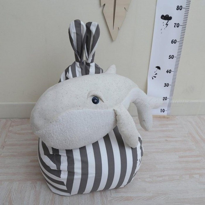Cute Animals Dolphin Octopus Cushion Pillow Stuffed Plush Dolls Calm Sleep Toys Nordic Style Kids Photo Props Bedroom Decor