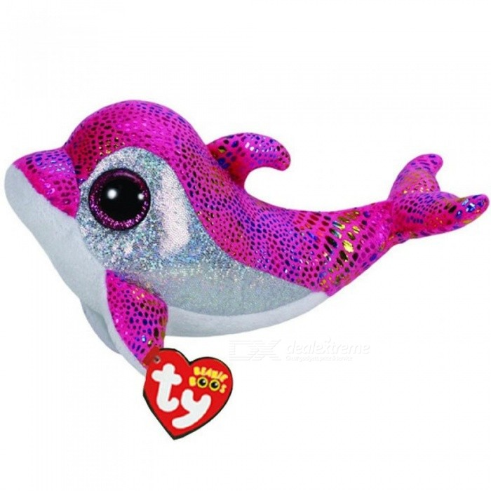 Stuffed & Plush Animals Pink Dolphin Toy Doll With Tag 6