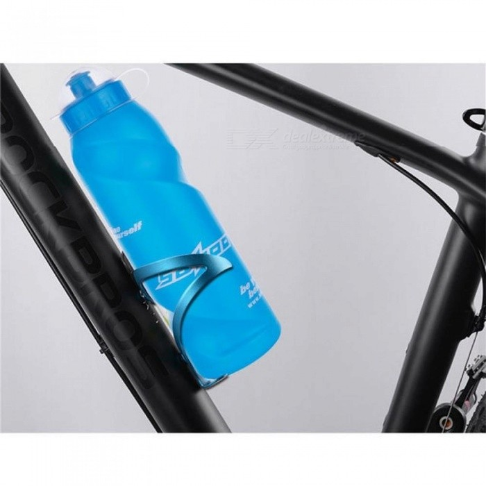 Free Leak Proof Sports Water Bottle High Quality Tour Hiking Outdoor Cycling Portable  Creative  Squeeze Plastic Bottles 700ml