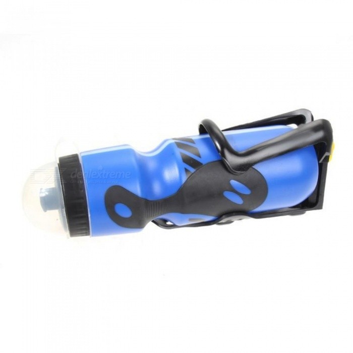 Portable Cycling Water Bottle+Bottle Holder For Camping Hiking Outdoor Sports Bike Parts Cycling Accessories 650ML