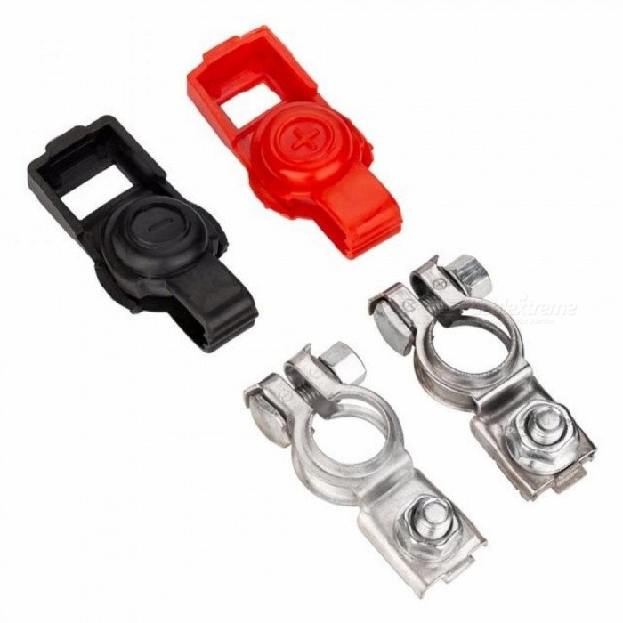 Car Battery Switch Battery Clip For Toyota Battery Terminal 1 Pair Battery Disconnect Switch Metal Material