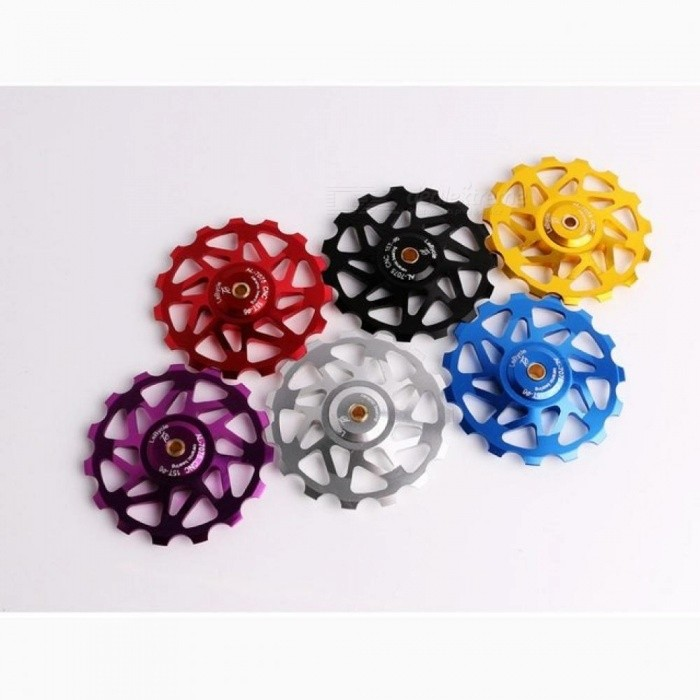 Bicycle Accessories Fidget Spinner Gear Aluminum Alloy Ceramic Bearing Hand Spinner With Multi-Color Optional