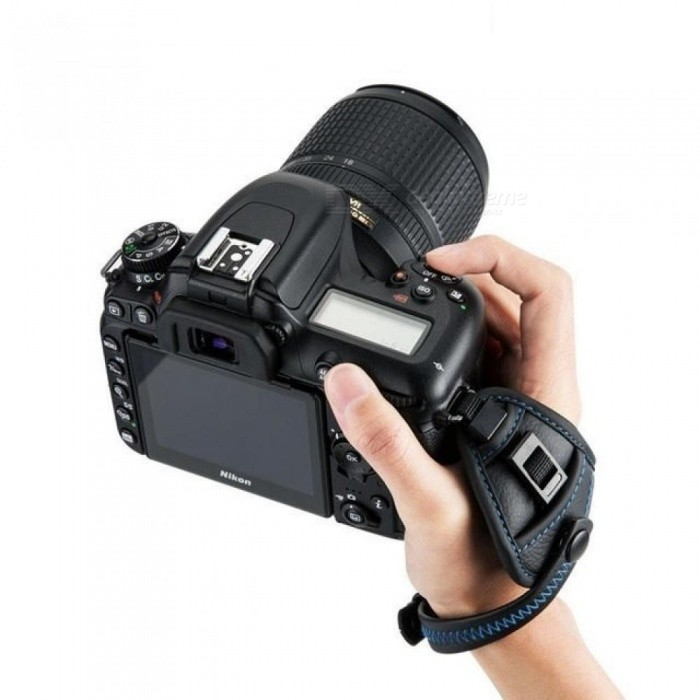 Camera  Wrist Carrying Belt Holder Genuine Leather Hand Grip Strap For Canon/Nikon/Sony/Fujifilm/Olympus/Pentax/Panasonic