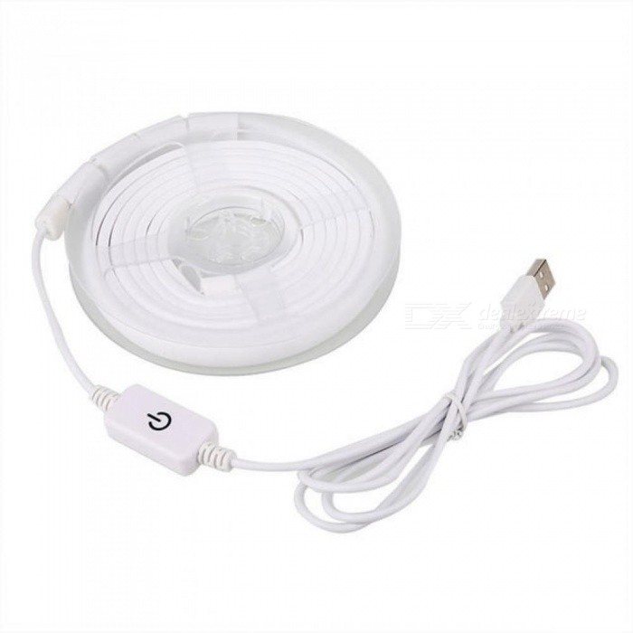 Camping Tent Light LED Strip String Touch Button USB Rechargeable Universal White Or Warm White Color