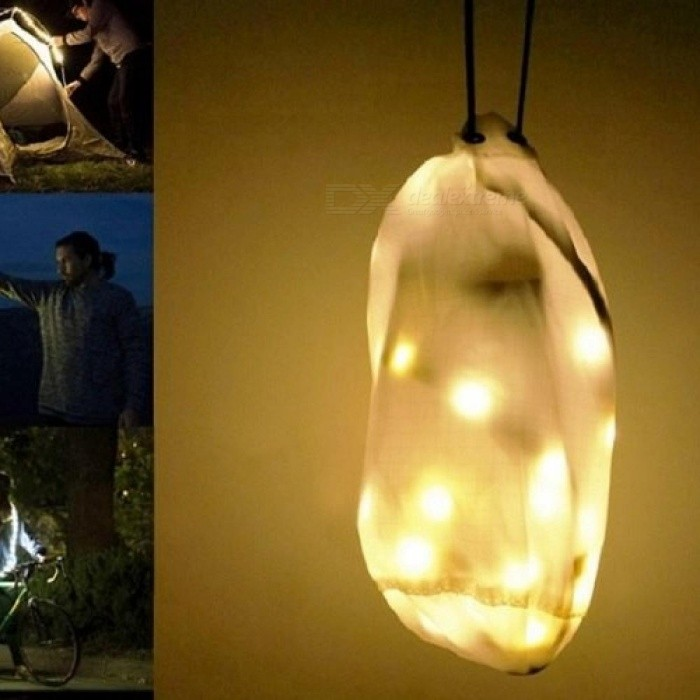 LED Light Rope for Camping Waterproof white USB Powered LED String Lights Lantern for Hiking, Safety, Emergencies