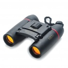 Mini 8X 22mm Binoculars with Strap - Black