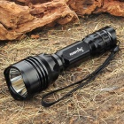 FandyFire M9 CREE XM-LT6 3-Mode 900LM White LED Memory Flashlight w/ Strap (1 x 18650 / 1 x 17670)