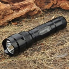FandyFire 502B SSC-P7 3-Mode 900LM White LED Memory Flashlight w/ Clip (1 x 18650)