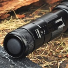 FandyFire 502B XM-LT6 1-Mode 510LM White LED Flashlight w/ Clip (1 x 18650)