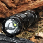 FandyFire G10 1-Mode 350LM White LED Flashlight w/ Strap (1 x 14500 / 1 x AA)