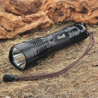 UniqueFire UF-2180 CREE XM-LT6 3-Mode 1000LM White LED Memory Flashlight w/ Strap (1 x 26650)