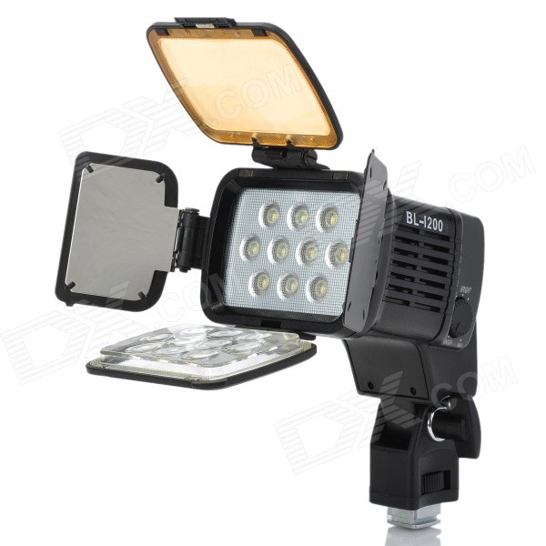 10-LED White Video Light for Camera/Camcorder neewer cn 304 304pcs led dimmable ultra high power panel digital camera camcorder video light led light for canon nikon pentax
