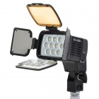 10-LED White Video Light for Camera/Camcorder