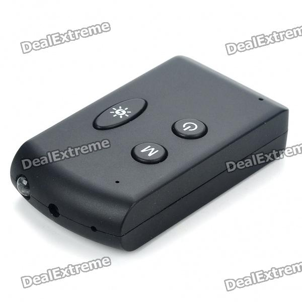 1080P USB Rechargeable Pin-Hole Spy Camera Camcorder Keychain w/ Money Detector/TF