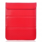 Stylish Protective PU Leather Case Bag for Ipad 2 - Red