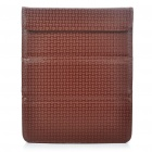 Stylish Protective PU Leather Case Bag for Ipad 2 - Coffee