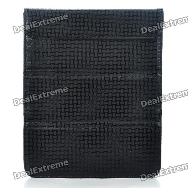 Stylish Protective PU Leather Case Bag for Ipad 2 - Black