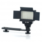 40-LED 5500K 430LM White Video Light for Camera/Camcorder (2 x 14500)