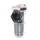 Ultra Mini 2.0 Mega Pixels CMOS Waterproof Action DV Camera MP3 Player with Clip - Black (4 GB)