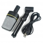 Desktop Microphone with Tripod for Laptop/PC (3.5mm Jack/2.1M-Cable)