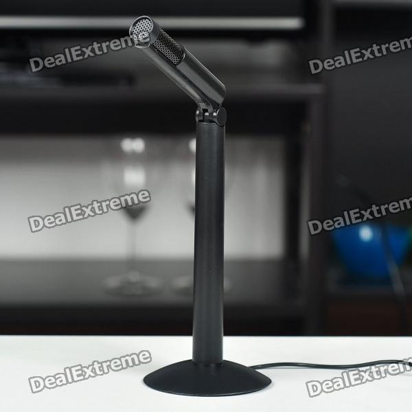 Universal Straight Microphone for Laptop/PC (3.5mm Jack/160CM-Length)