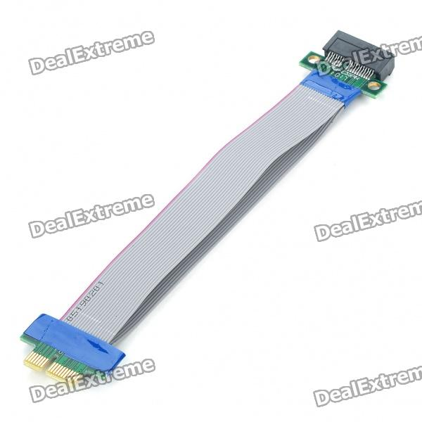 36-Pin Ribbon PCI Express (PCI-E) Extension Cable for Desktop PC