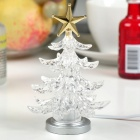 USB Powered Colorful Light Christmas Tree - White
