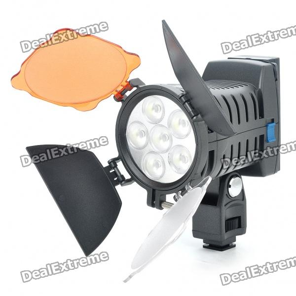 920Lux 6-LED Video Light for Camera/Camcorder