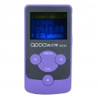 "1.4"" LCD Rechargeable MP3 Player - Purple (2GB)"