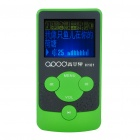 """1.4"""" LCD Rechargeable MP3 Player - Green (2GB)"""