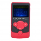 "1.4"" LCD Rechargeable MP3 Player - Red (2GB)"