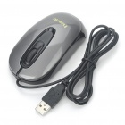 HAVIT USB Wired 1000DPI Optical Mouse - Black (120cm-Cable)