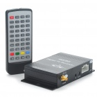 DVB-T Digital Car TV Receiver Box w/ Antenna (12V)