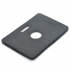 Protective Silicone Back Case for Samsung Galaxy Tab 10.1 - Black