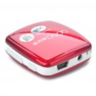 "1.0"" LCD Rechargeable MP3 Player - Red (2GB)"