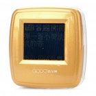 "1.0"" LCD Rechargeable MP3 Player - Golden (2GB)"