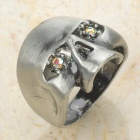 Cool Skull Style Ring (Random Color)