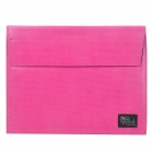 Fashion Protective PU Leather Bag Case for iPad/iPad 2 (Deep Pink)
