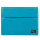 Fashion Protective PU Leather Bag Case for iPad/iPad 2 (Blue)