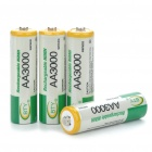 "BTY Rechargeable 1.2V ""3000mAh"" Ni-MH AA Batteries (4-Piece Pack)"