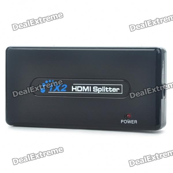 3-Port 1080P HDMI V1.3 Splitter (1-IN 2-OUT)