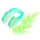 Swimming Nose Clips + Silicone Earplugs Set - Random Color