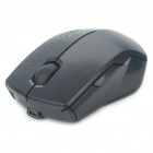 1600DPI Wireless Optical Mouse w/ USB Receiver - Black (2 x AAA)