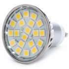 GU10 3.5W 3200K 260-Lumen 20x5050 SMD LED Warm White Light Bulb (AC 220~240V)