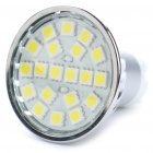 GU10 3.5W 6000K 280-Lumen 20x5050 SMD LED White Light Bulb (AC 220~240V)