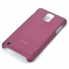ROCK Protective PC Back Case w/ Screen Guard/Cleaning Cloth for Samsung i997 Infuse 4G - Wine Red