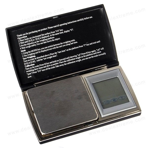 Touch Screen Digital Pocket Escala 500g/0.1g